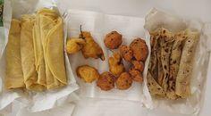 Dholl purris - Gateaux piments - Faratas... Mmmmh Yummy!