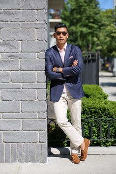 Leo Chan Summer Suede Style II: Sharp Casual
