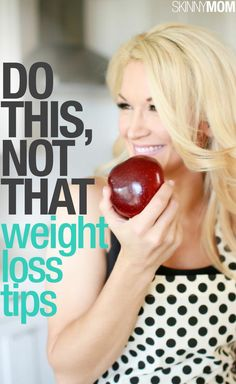 If you want to drop the weight and keep it off, check out these tips.