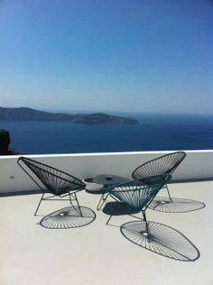 Outdoor Furniture - Outdoor Sofa & Seating Sets - Babmar - Santorini Chair -All White