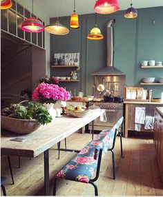 Best Bohemian Kitchen Design Idea Home Decor Ideas Decorations DIY Home Make Over Furniture Eclectic Kitchen, Kitchen Decor, Kitchen Design, Bohemian Kitchen, Kitchen Ideas, Kitchen Planning, Kitchen Rustic, Stylish Kitchen, Kitchen Furniture