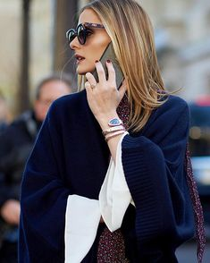 Fashion Over 40, Blue Fashion, All About Fashion, Girl Fashion, Olivia Palermo Lookbook, Olivia Palermo Style, Blue Style, My Style, Everyday Outfits