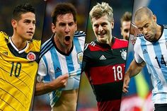 FIFA anunció a los candidatos para el Balón de Oro del Mundial