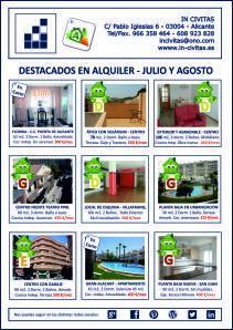Os mostramos nuestra selección de viviendas en alquiler !! Esperamos que os gusten  #incivitas #venta #inmobiliaria #alicante http://incivitas.wordpress.com/2014/07/07/destacados-en-venta-julio-y-agosto-2014/ REVISTA IN CIVITAS ALQUILER JULIO Y AGOSTO 2014