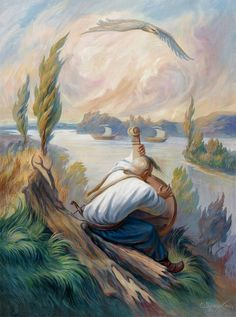 Oleg Shuplyak, 1967 ~ Surreal Optical Illusion painter This optical illusion makes me feel peaceful. Illusion Kunst, Illusion Art, Optical Illusion Paintings, Optical Illusions, Art Optical, Oleg Shuplyak, One Photo, Illusion Pictures, Hidden Images