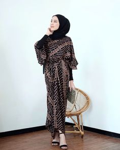 Try this batik for dress Model Dress Batik, Batik Dress, Kaftan Batik, Batik Muslim, Kebaya Hijab, Kebaya Muslim, Kebaya Modern Dress, Formal Dress Patterns, Indonesian Women