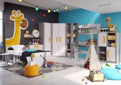 Kolekcji mebli Bumerang to zestaw kilkunastu brył do skomponowania nowoczesnej przestrzeni w pokoju młodzieżowym. Funkcjonalne regały, pojemne komody oraz szafy ubraniowe pomogą uporządkować pokój nastolatka. Kolekcja Bumerang występuje w szaro - grafitowej kolorystyce.Meble wykonane są z odpornej na zarysowania płyty laminowanej. Charakterystycznym elementem kolekcji są wygodne uchwyty dostępne w szerokiej gamie kolorystycznej.