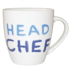 #JamieOliver #CheekyMug #Head Chef http://www.palmerstores.com/product/jamie-oliver-cheeky-mug-head-chef/822/