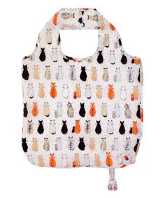 Look what I found on #zulily! Cats in Waiting Roll-Up Tote #zulilyfinds