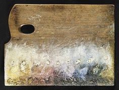 accidental mysteries: Rare Artist's Palettes, Seurat