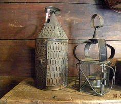 gorgeous tin lantern               ****