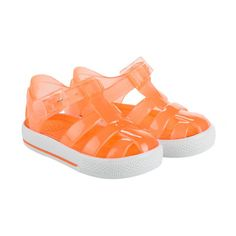 Giggle Jelly Sandals in orange