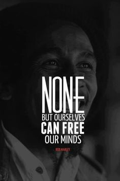 Bob Marley has such a way with words. I love listening to his words.. Each song is a lesson... Be it about love or history...