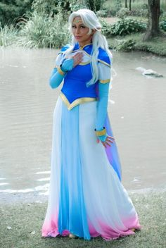 Cosplay Anime Princess Allura by TechnoRanma Anime Cosplay Costumes, Epic Cosplay, Cosplay Makeup, Amazing Cosplay, Cosplay Outfits, Avatar Cosplay, Cosplay Pokemon, Cosplay Diy, Voltron Costume