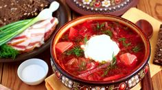 Ukrainian Borsch is one of the most delicious and famous dishes of Ukrainian national cuisine. It is loved not only by Ukrainians, but also by many gourmets from all over the world. Ukrainian Borsch has a long history and you will find variety of recipes. The reason for that is Ukrainian long history and ties to different countries and their custure: Polish, Russian, Belorussian - each of them brought its zest in the recipe of this delicious dish... Follow the link to view the recipe!