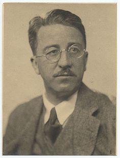 Painter and designer, Guy Pene Du Bois 1930