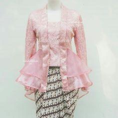 Kebaya Peplum, Kebaya Lace, Kebaya Hijab, Kebaya Muslim, Dress Brukat, Hijab Style Dress, Batik Dress, Model Kebaya Modern, Kebaya Modern Dress