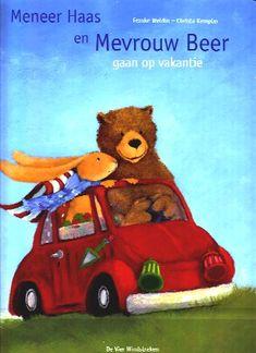 Meneer Haas en Mevrouw Beer gaan op vakantie, F. Weldin & C. Kempter (uitg. De Vier Windstreken) Le Moulin, Humor, Winnie The Pooh, Disney Characters, Fictional Characters, Teddy Bear, Christmas Ornaments, Toys, Animals