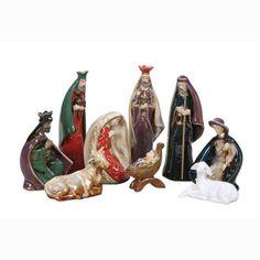 Ceramic Nativity Set, The Printery House