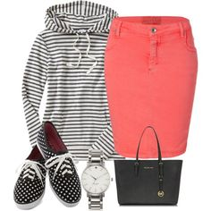 Untitled #118 by cmays1994 on Polyvore featuring Old Navy, Closed, Keds, Michael Kors and Kate Spade