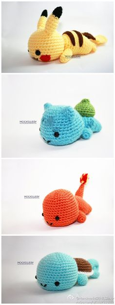 Adorable Pokemon! Must make these!