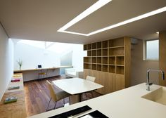 "Tokyo house by Atelier Tekuto with skylight to ""frame the sky"""