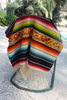 Vintage Serape in my personal collection.