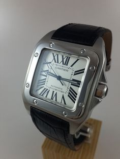 MEN'S CARTIER SANTOS 100 XL AUTOMATIC STEEL WATCH 2656