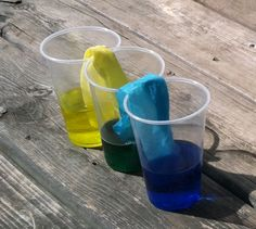 Let the kids have fun with colors during this walking water activity!