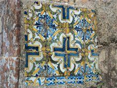 Pequeno mosaico, Castelo de Abrantes