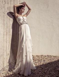 #Greek #wedding #dress
