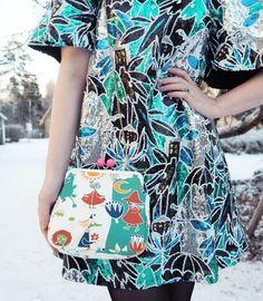 Ivana Helsinki Winter Fashion, Women's Fashion, Short Sleeve Dresses, Dresses With Sleeves, Marimekko, Helsinki, Winter Style, My Style, Clothes