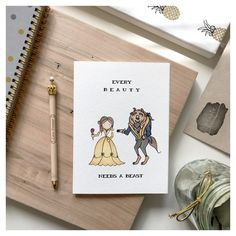 B E A U T Y And The S Greeting Card Valentines Gift For Him Friend Valentine