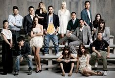 Shot of the group - Everyone on different levels / Looking all model-y