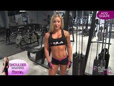 Shoulder Shaping Video 2 - Shape-Perfecting Isolation Exercises