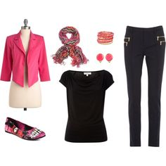 Fun Work Day Outfit, created by tishgear.polyvore...