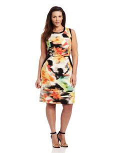 Calvin Klein Women's Colorblock Sheath Dress, Key Lime/Bellini Multi, 22W Calvin Klein,http://www.amazon.com/dp/B00BJFFWUS/ref=cm_sw_r_pi_dp_RqBxsb1S6BJ4F8Y0
