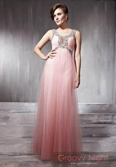 フワフワピンクとキラキラゴージャスのコラボレーションロングドレス♪ - ロングドレス・パーティードレスはGN|演奏会や結婚式に大活躍!