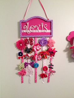Hair bow hanger  on Etsy, $30.00