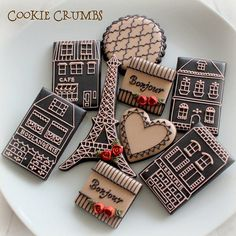 paris themed cookies | Flickr - Photo Sharing!