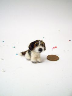 Dolls House Size Pets,ooak Needle Felted Artist One Of A Kind Most With A Wire Armature For Movement