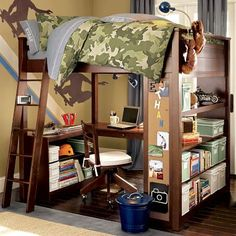 Loft Beds On Pinterest Loft Desks And Bunk Bed