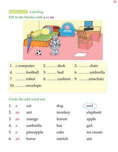 Practice English Grammar, English Grammar Exercises, Grammar For Kids, Grammar Lessons, Worksheets For Class 1, English Worksheets For Kindergarten, English Worksheets For Kids, English Stories For Kids, English Lessons For Kids