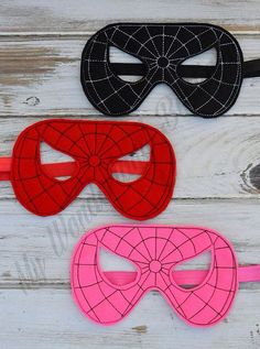 Spiderman mask party favors by MyWonderlandBoutique on Etsy