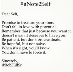 @RobHillSr - Note to self