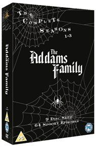 The Addams Family: The Complete Series (9 disc) (Import) (DVD)