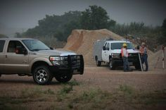 Ranch Hand Bumpers in Construction Zone