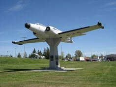 CF-100 18626 in Lee Park, North Bay Fighter Jets, The 100, Aircraft, Dreams, Park, Aviation, Plane, Airplanes, Parks