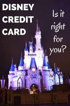 The Disney Visa credit card from Chase can be a great tool for saving money on your next Disney vacation. Find out if it is the right fit for your financial goals and how to get the most value out of using it!