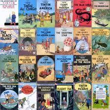 Tin Tin - grew up reading these comics.